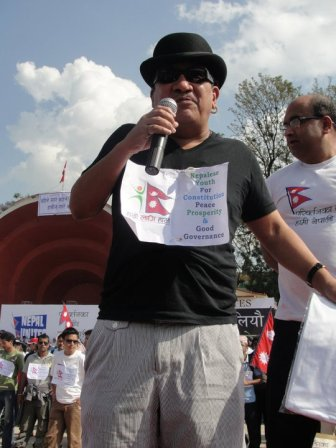 Singer Yogeshwor Amatya Demanding Constitution