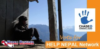 Vote for Help Nepal Network Nepali Blogger
