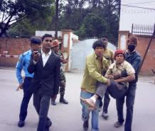 earthquake Nepal april houses damaged 7