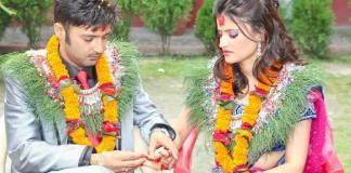 Aryan Sigdel Sapana Bhandari engagement 5
