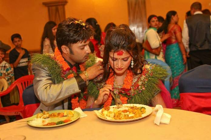 Aryan Sigdel Sapana Bhandari engagement 8
