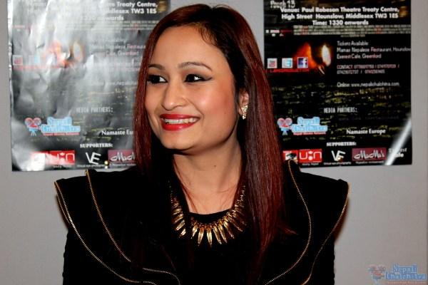 Model Pooja at Dhanda Screening