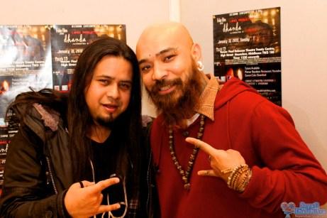 Suraj and Sandeep from Axis Band at Dhanda Hounslow Screening.