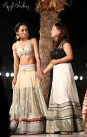 Jharna Bajracharya at Trendsetters Fashion Show