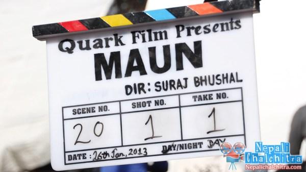 Maun Nepali Movie clap Nepali Chalchitra