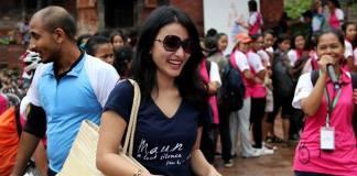 Namrata Shrestha Kathmandu Cycle City Rally 6
