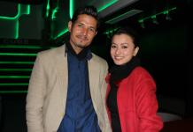 Namrata Shrestha and Arpan Thapa at Dhanda Nepali Movie Premiere