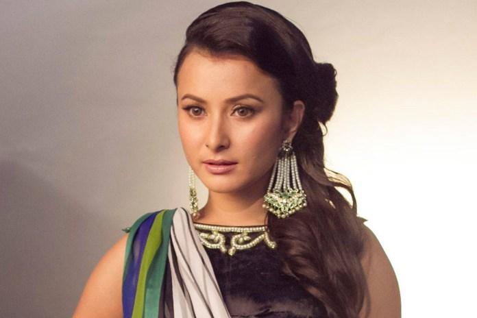 Namrata Shrestha behing Wave magazine shoot