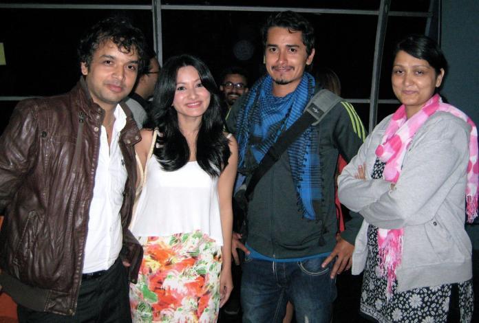 Namrata Shrestha with Gaurav Pahari Maun Movie