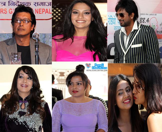 Nepali Celebrities in Nepal Votes Election