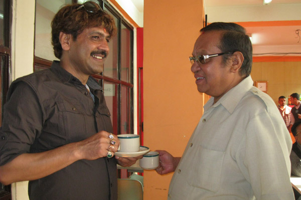 Nir shah and Prakash Subedi Nepali Film Festival 2012