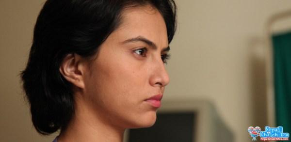 Nisha Adhikari in Soongava Nepali Movie