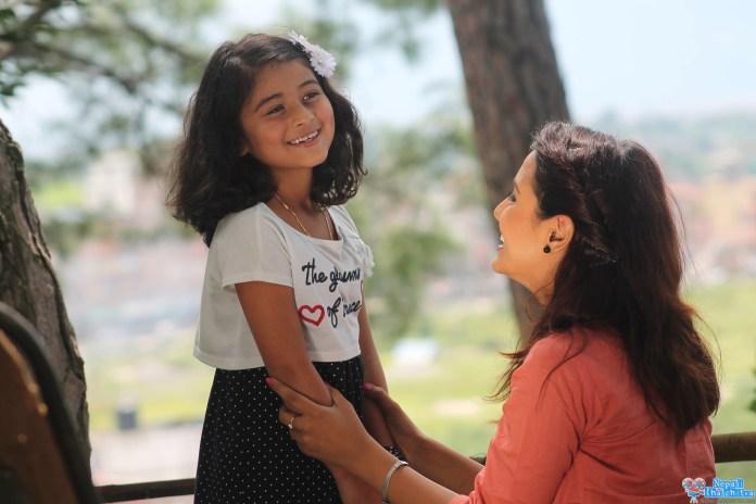Priyanka Karki in Music Video with saugat Malla