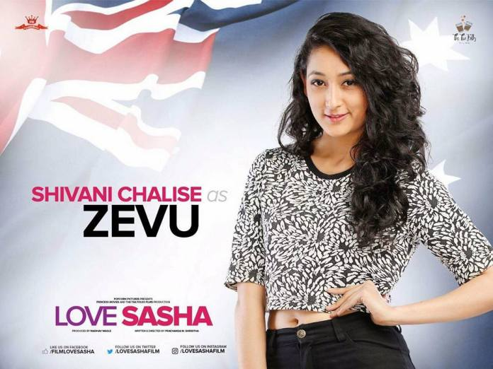 Shivani Chalise as Zevu Love Sasha Movie