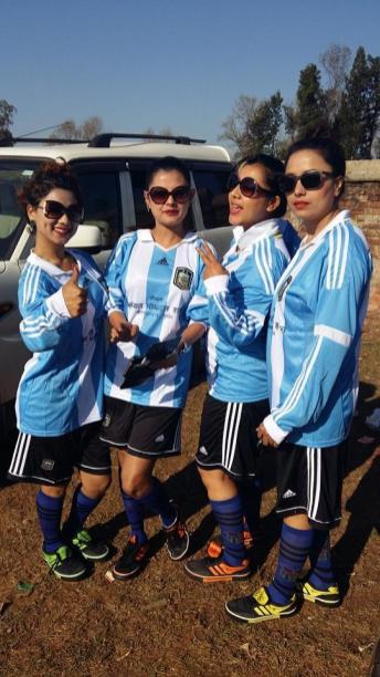 Sushma Karki Football Match Surkhet 3