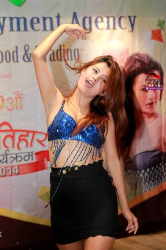 Sushma Karki Hong kong hot dance 4