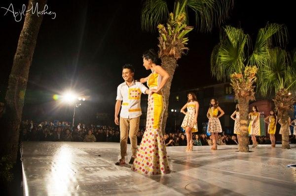 Tenzin Tseten Bhutia and Sahana Bajracharya at Trendsetters 2 Fashion Show