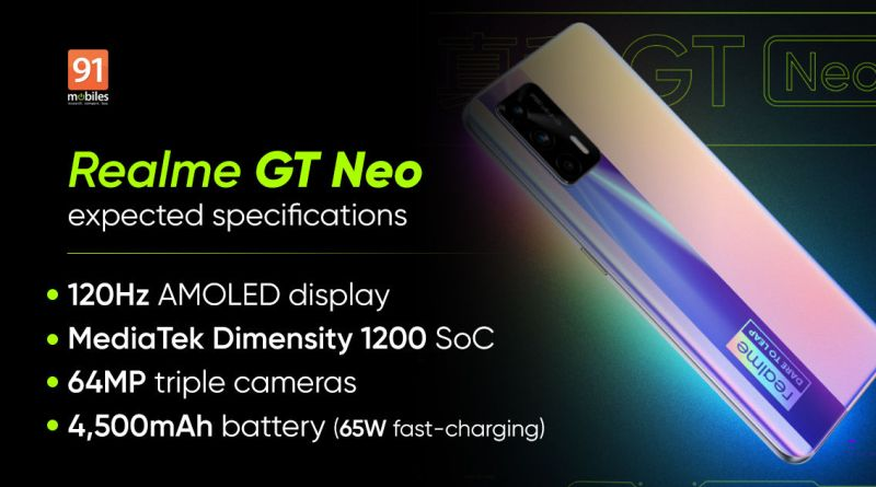 Realme GT Neo Price In Nepal, Full Phone Specifications, and many more... 1
