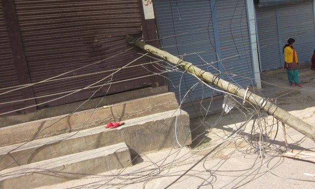 KMC starts management of city's untidy wires and cables