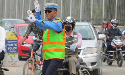 होलीमा ७७ स्थानमा ट्राफिकले विशेष  जाँच गर्ने