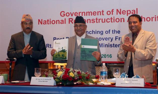 PM unveils 5-year reconstruction work plan