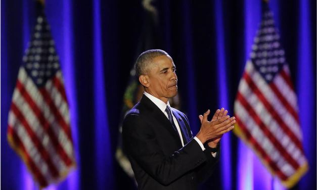 Obama says 'yes we did' in emotive farewell address