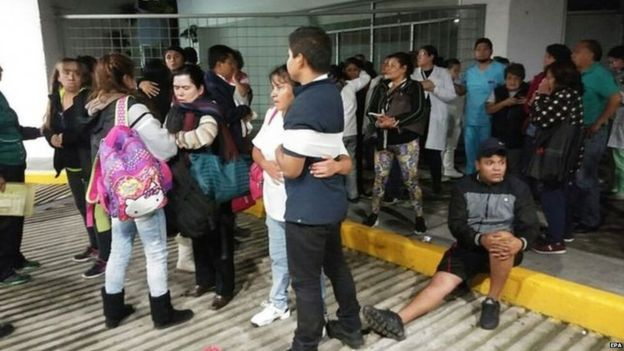 8 earthquake hits south Mexico