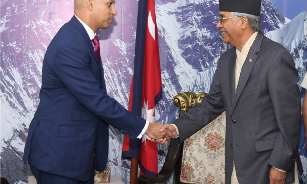 Canadian ambassador to Nepal congratulates PM