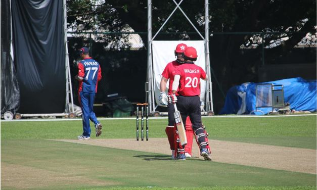Nepal suffers 83 runs defeat to Hong Kong