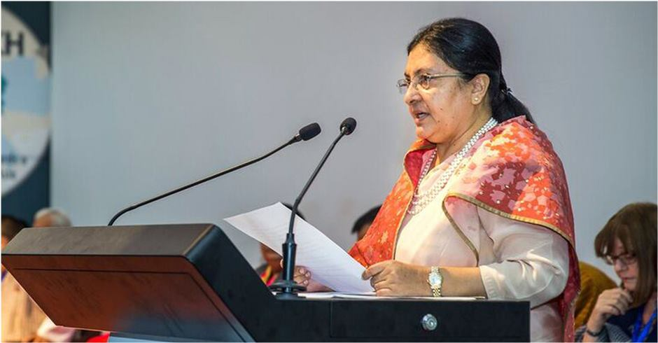 Collaboration must to save Hindu Kush Himalayan biodiversity: President Bhandari