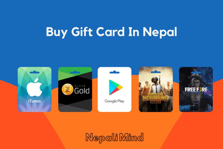 Buy Gift Card In Nepal