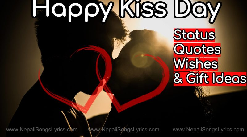 Happy kiss day wishes photos status quotes