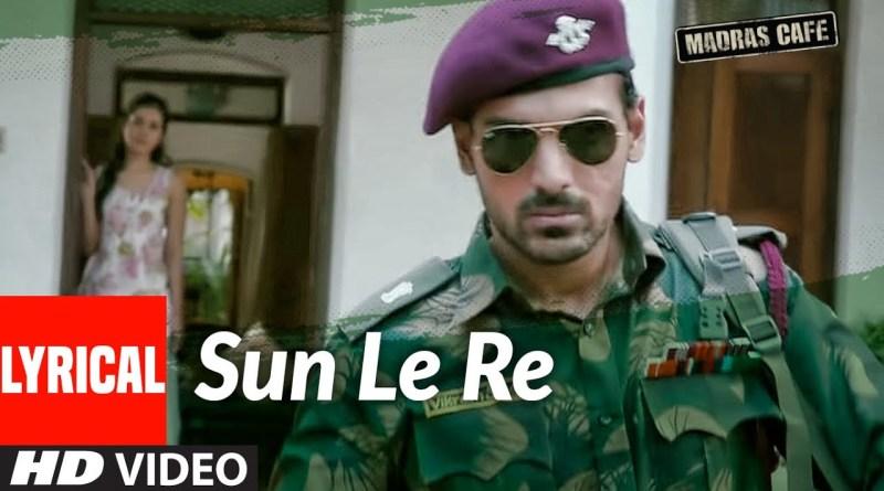 Sun Le Re lyrics - Papon