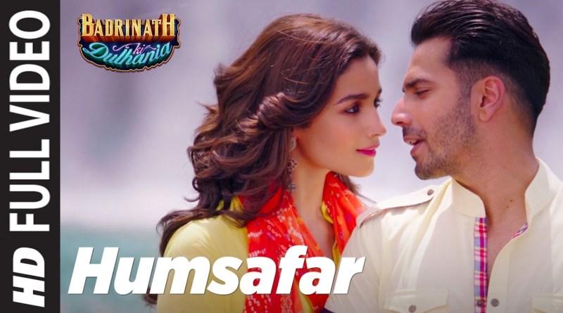 Humsafar lyrics - Varun & Alia Bhat