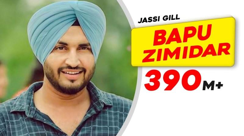 Bapu Zimidar Lyrics - Jassi Gill