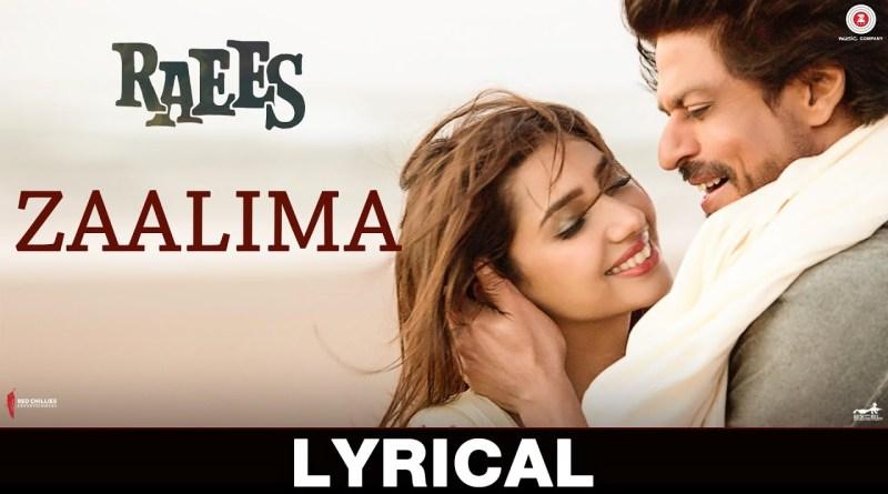 Zaalima Lyrics - Arijit Singh, Harshdeep Kaur
