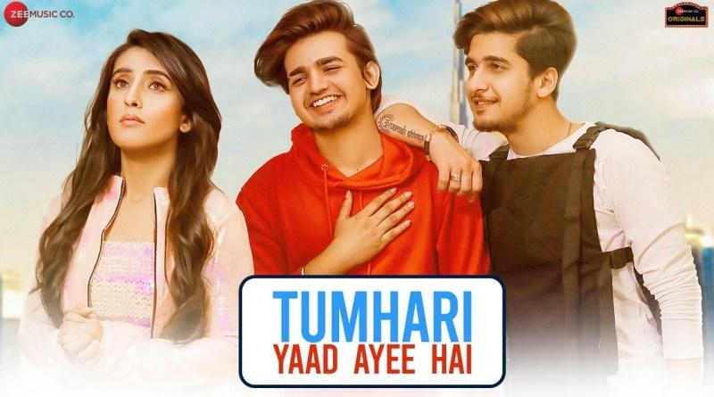 Tumhari Yaad Ayee Hai lyrics - Bhavin,Sameeksha,Vishal