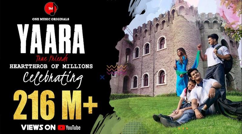 Yaara lyrics - Mamta Sharma| Manjul Khattar | Arishfa Khan |