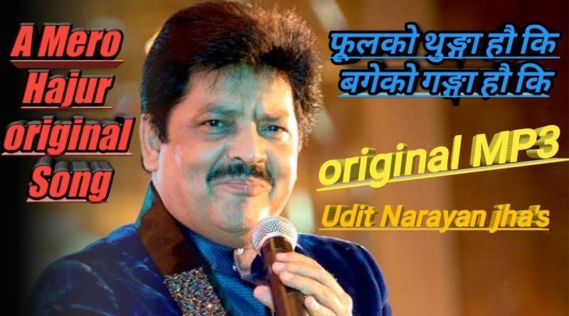 Ye Mero Hajur lyrics - Udit Narayan Jha/Deepa Narayan Jha