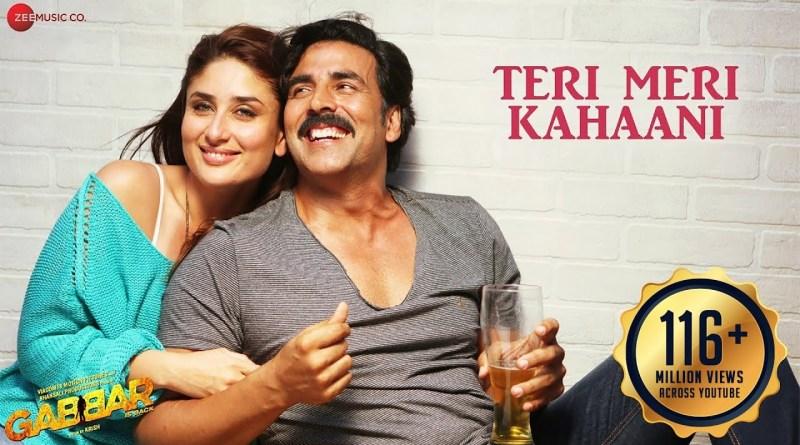 Teri Meri Kahaani lyrics - Arijit Singh, Palak Muchhal