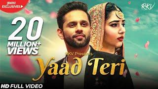 Yaad Teri Lyrics - Rahul Vaidya
