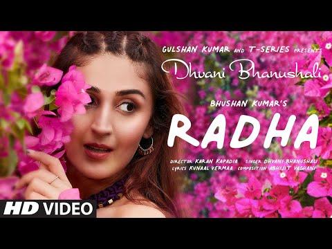 Radha Lyrics - Dhvani Bhanushali | Abhijit Vaghani | Kunaal Vermaa | Bhushan Kumar