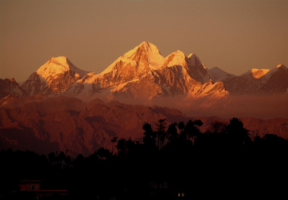 SunSet Mountain Nepal