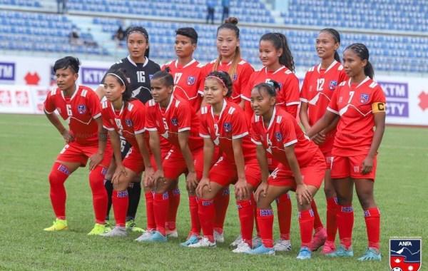 एएफसी महिला एसियन कप : नेपाल फिलिपिन्ससँग पराजित