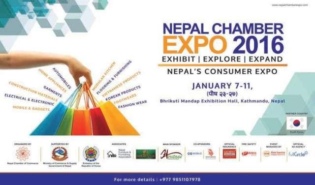 Nepal Chamber Expo-2072 kicks off at Bhrikutimandap