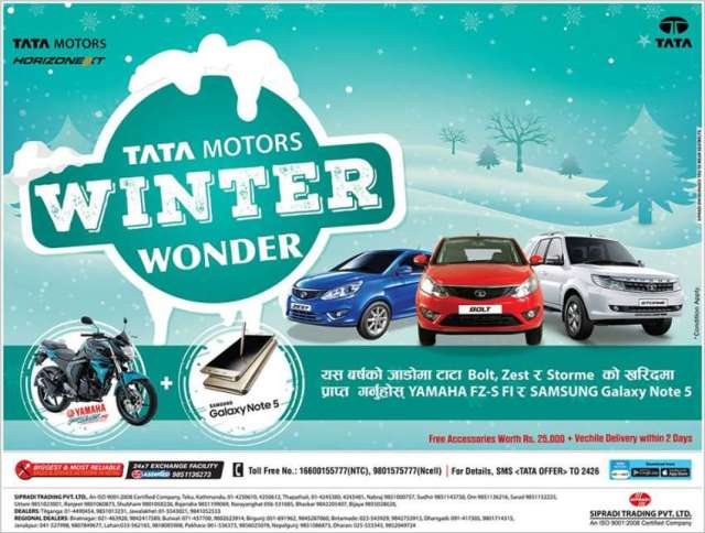 TATA Motors Winter Wonder Scheme