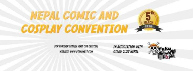 Nepal's first comic & cosplay convention
