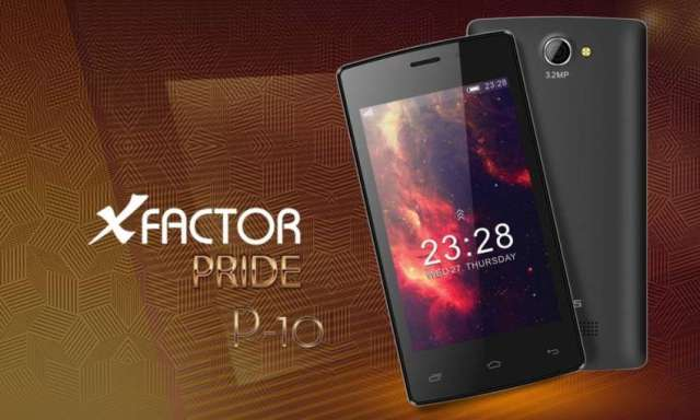 Colors X-factor Pride P10, one of the cheapest smartphone launched
