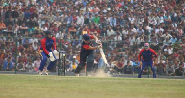 Nepal defeats Namibia by five wickets