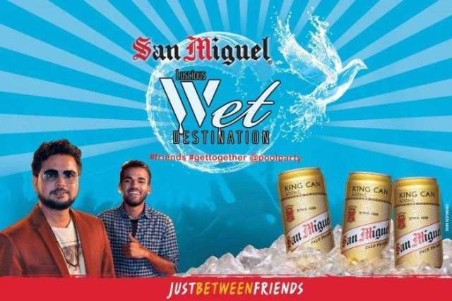 San Miguel Organising Pool Party on May 14